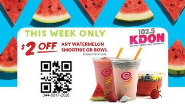 The Morning Madhouse - Try the Taste of Summer with $2 Off Watermelon!