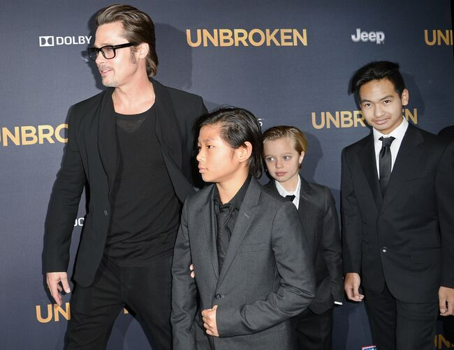 Sexiest dads in hollywood- Brad pitt