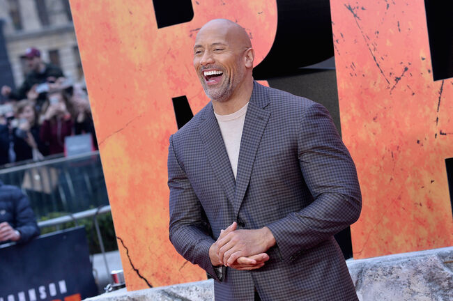 Sexiest dads in hollywood- Dwayne The Rock Johnson