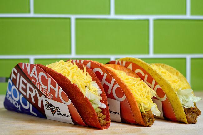 Taco Bell Doritos Los Tacos