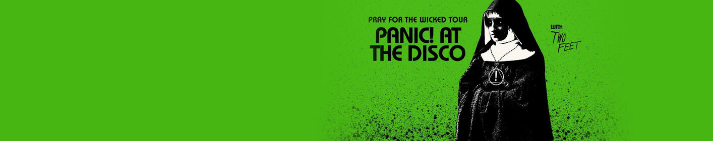 Panic! At The Disco February 5th at Enterprise Center!