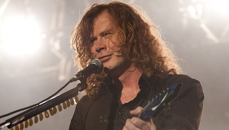 Dave Mustaine Says He Wants to Show Kids What Real Metal Sounds Like