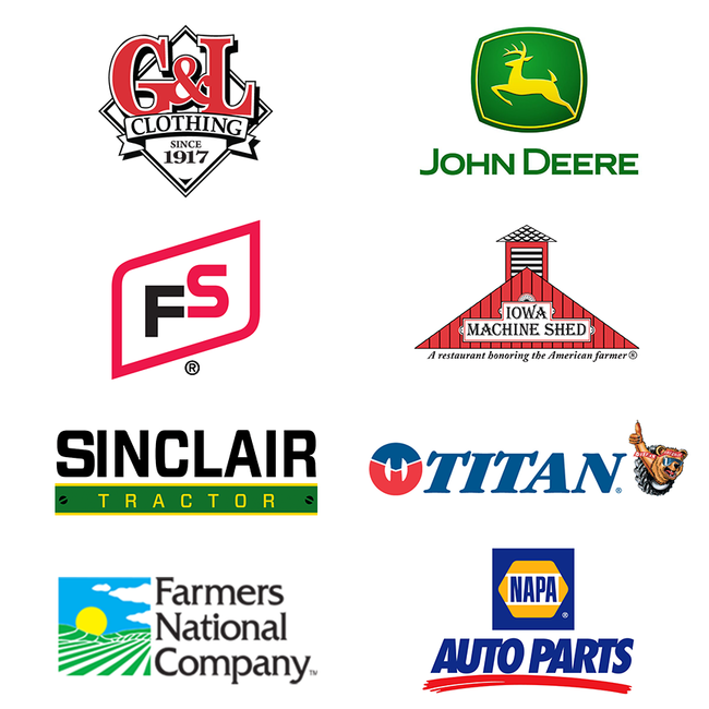 Thanks to our 2019 WHO Tractor Ride Sponsors!