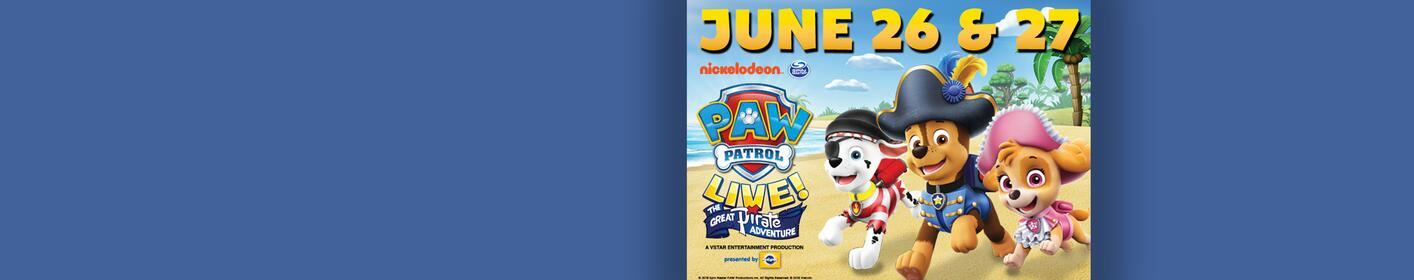Win a Pair of Tickets to see Paw Patrol Live!