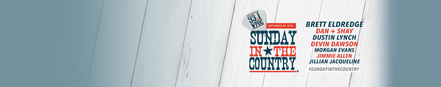 Get Tickets To Sunday In The Country on Sept. 30 at Merriweather Post Pavilion!