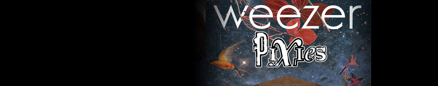 Listen weekdays at 9:30a to win tickets to see Weezer & The Pixies!