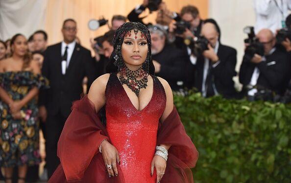 Nicki Minaj Met Gala Arrival - Getty Images