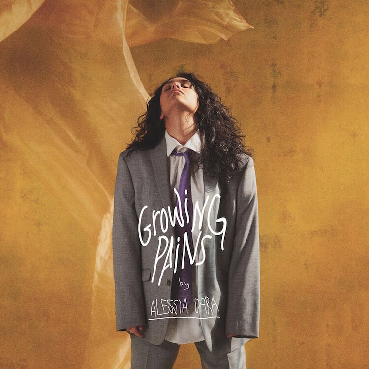 "Alessia Cara ""Growing Pains"" Single Cover Art"
