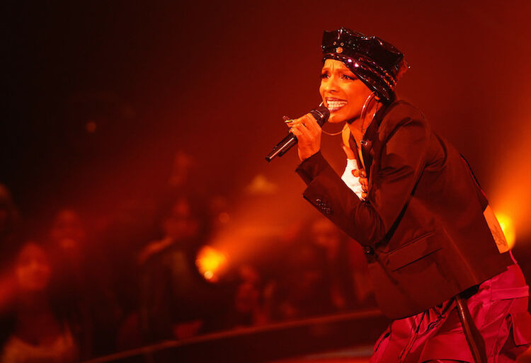 Sharaya J performs on The Four Season 2