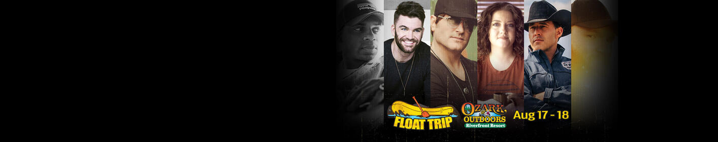 Win a Concert Float Trip in the Ozarks for Aug 17-19