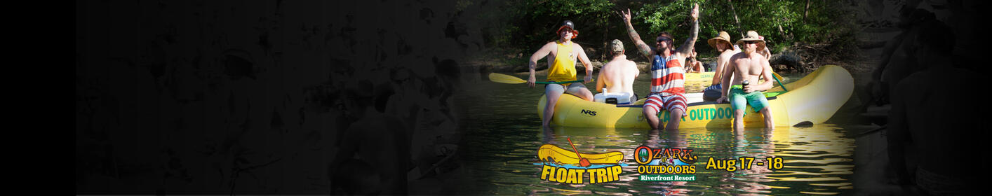 Win a Float Trip in the Ozarks with Iheartmedia