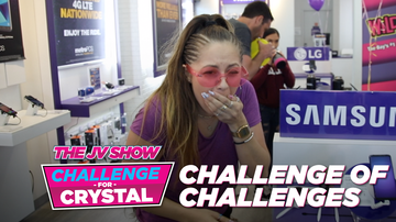 The JV Show - The @JV Show Challenge for Crystal: The Challenge of Challenges