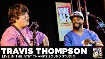 DJ SupaSam - Travis Thompson Live in the AT&T Thanks Sound Studio