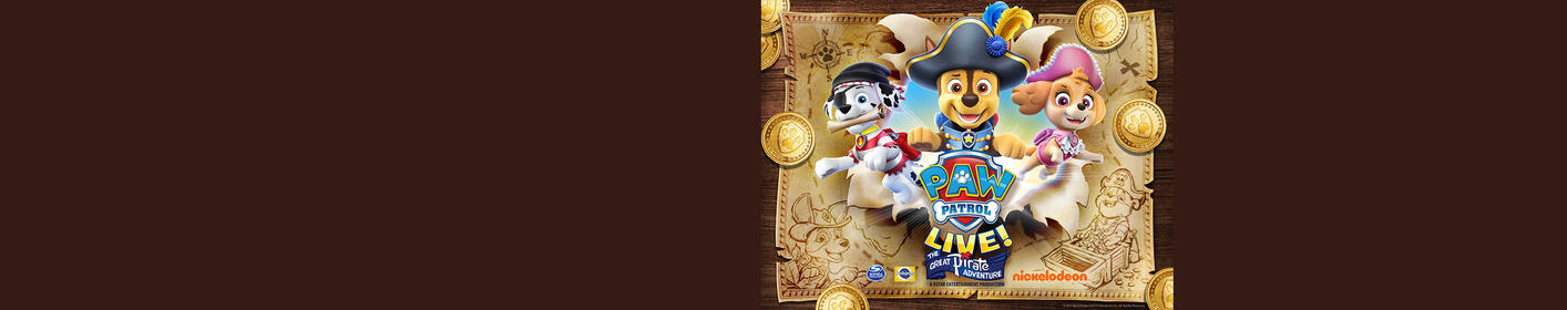 Paw Patrol Live - The great Pirate Adventure