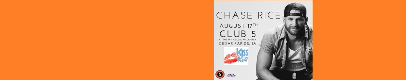 965 Kiss Country Welcomes Chase Rice in Concert!