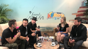 KTUphoria - 98 Degrees Talk Connecting with Fans, Upcoming Christmas Tour at KTUphoria