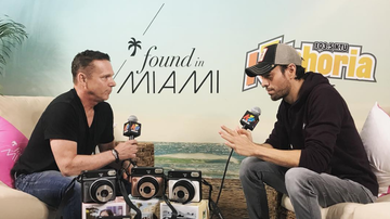 KTUphoria - Enrique Iglesias Opens Up About Life as a New Father at KTUphoria