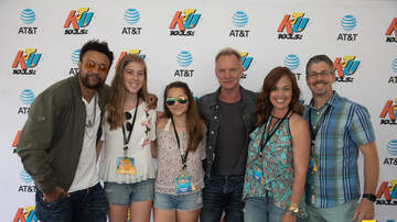KTUphoria - PHOTOS: Sting & Shaggy Meet Fans Backstage at KTUphoria