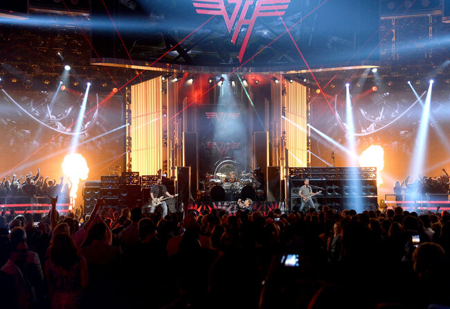 Van Halen, 2015, Las Vegas, Getty Images