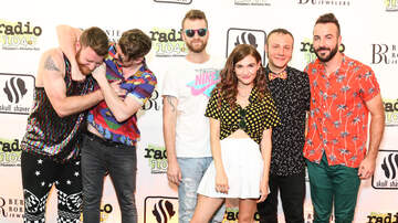 Radio 104.5 Birthday Celebration Night One - Misterwives Meet + Greet at the 11th Birthday Show Day One