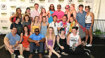 Radio 104.5 Birthday Celebration Night One - Thirty Seconds to Mars backstage meet and greet at the 11th Birthday Show