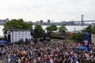 Joywave Shuts Down the New Music Discovery Stage at Bday Show Day One