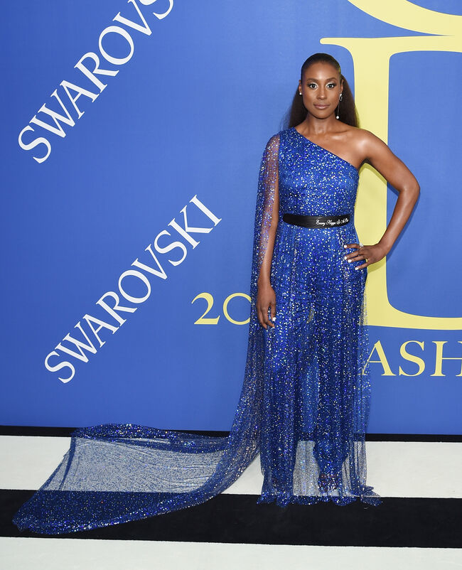 2018 CFDA Fashion Awards - Arrivals Issa Rae-Photo:Getty