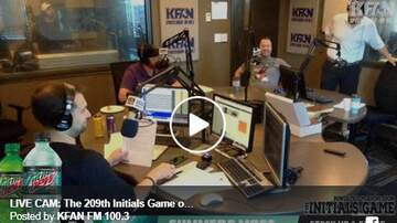 The Initials Game - WATCH: Check out the LIVE CAM feed from the 208th Initials Game | KFAN
