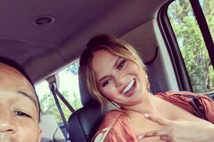 John Legend Gushes Over Breastfeeding Wife Chrissy Teigen on Dad's Day