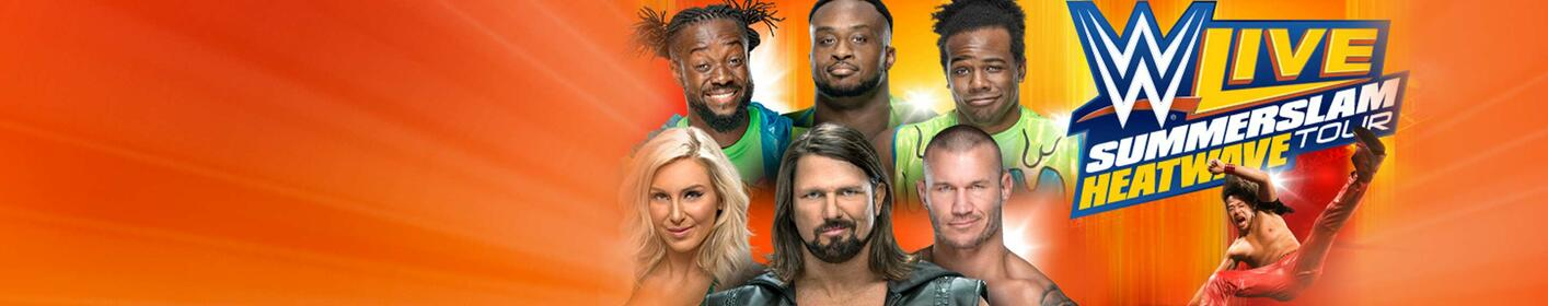 Win Tickets: WWE Live Summerslam Heatwave Tour