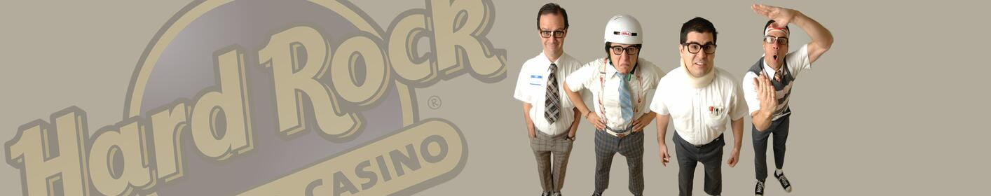 Listen to The Morning Brew All This Week to Win Tickets to The Spazmatics! - This Saturday Night at Hard Rock!