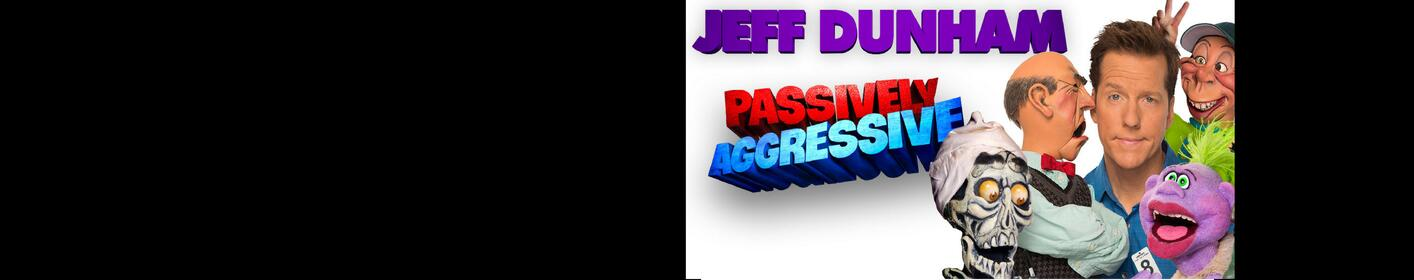 Listen this week to win tickets to see Jeff Dunham at Rupp Arena!