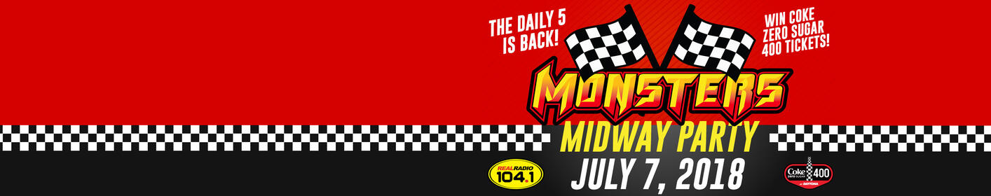 The Daily 5: Win Monsters Midway Party + Coke Zero Sugar 400 Tix!