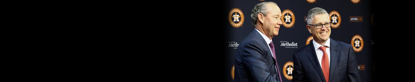 Astros Promote Jeff Luhnow to President of Baseball Ops