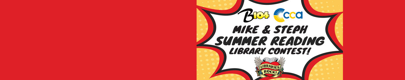Mike and Steph's Summer Library Reading Program!