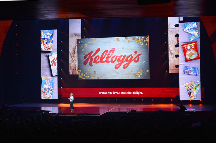 President of US Snacks for Kellogg's, Deanie Elsner, speaks onstage during the YouTube Brandcast 2018 presentation at Radio City Music Hall on May 3, 2018 in New York City. (Photo by Noam Galai/Getty Images)