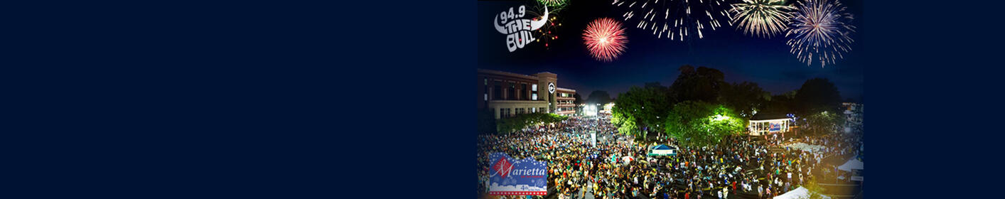 Join Us For 4th In The Park In Marietta! Enter Here For A Chance To Win A VIP Experience