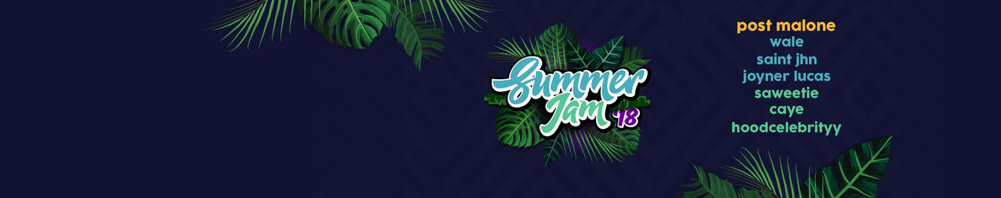 Get your Summer Jam tickets right now before it's too late!