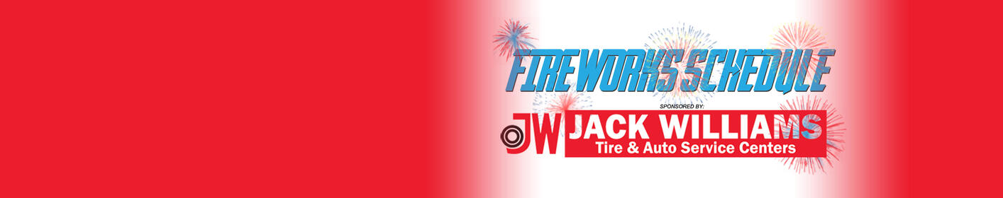 Find out when and where to watch Fireworks for your Fourth Of July Celebration!