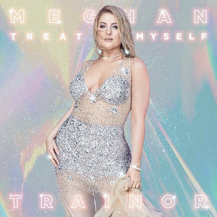 Meghan Trainor - Treat Myself Album Cover Art