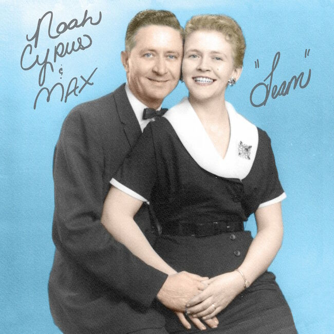 Noah Cyrus & Max - 'Team' Single Cover Art
