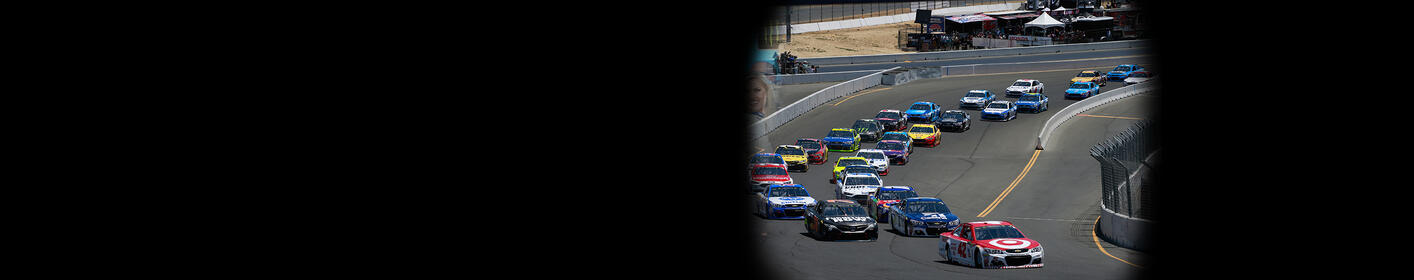 """""""NASCAR Goes Road Course Racing!  Hear The Race From Sonoma On Q102."""