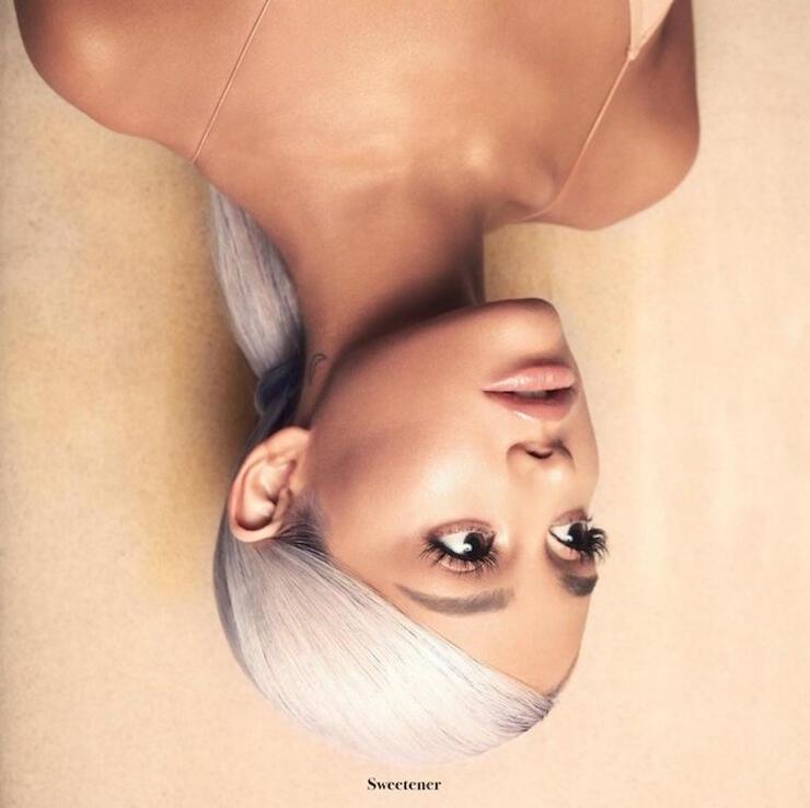 Ariana Grande - 'Sweetener' Album Cover Art