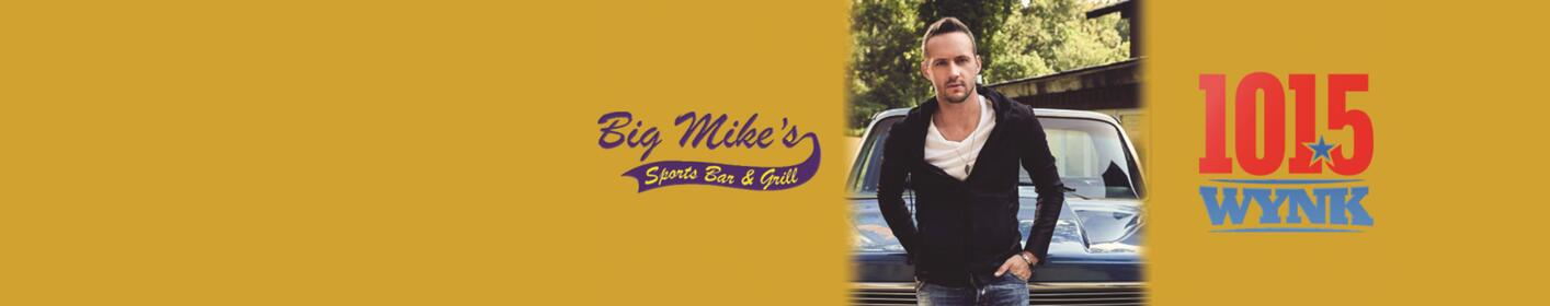 Eat lunch with Drew Baldridge at Big Mike's this weekend!
