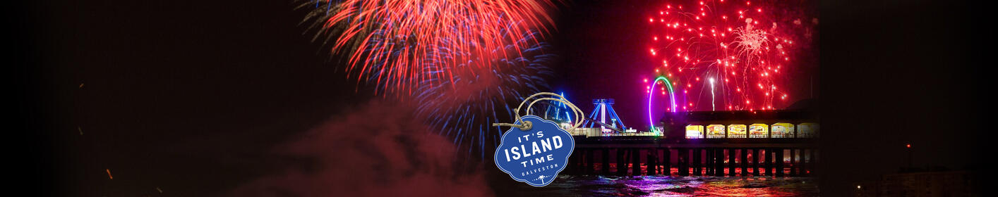 Spend July 4th on Galveston Island with a Fireworks Spectacular soundtrack you can hear on SUNNY!