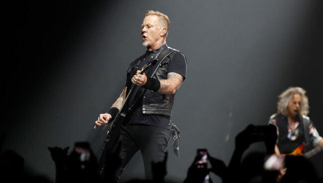 Metallica's Entire Catalog Now Available for Streaming on iHeartRadio!