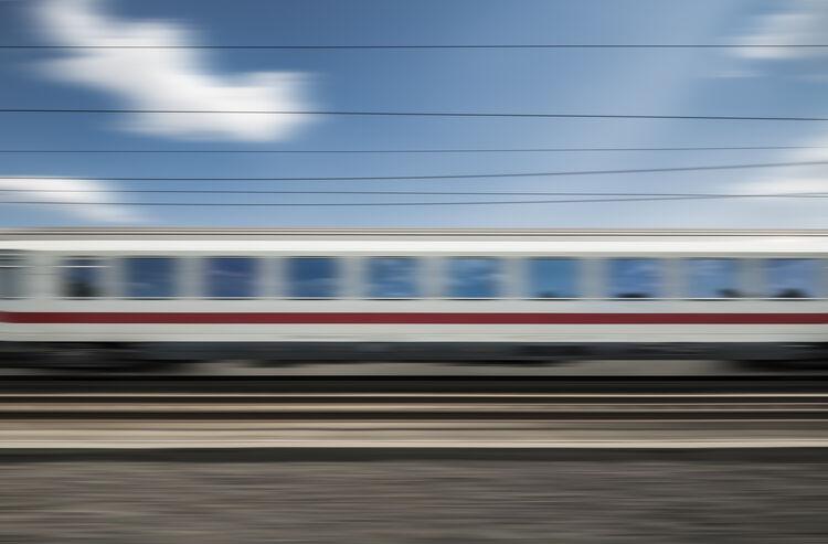 Passenger Train Getty RF
