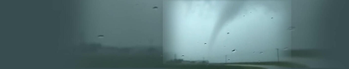 Iowa storm chasers face tornado Wednesday VIDEO