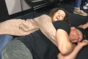 Sky And Thor Practice Spooning And Of Course They Made It Awkward