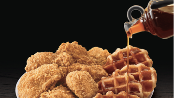Scott and Sadie - KFC's Chicken and Waffles Finally Go on Sale Today